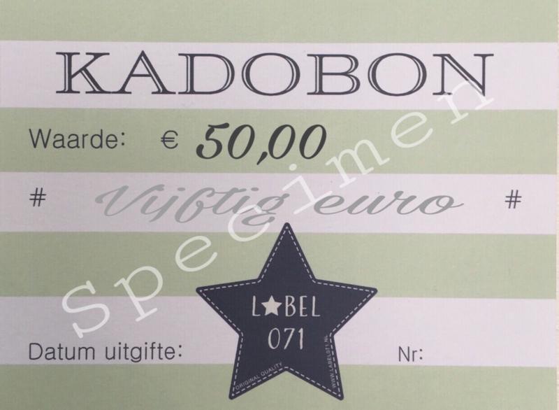 Kadobon 50,00