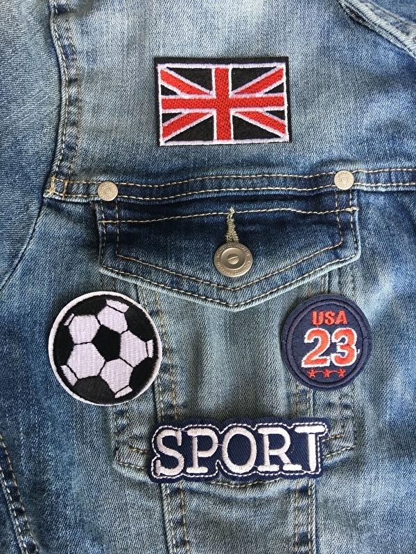 Opstrijkbare Patches-emblemen, ENGLAND SPORTS.