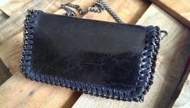 St. Mc C. schouder tas of clutch zwart