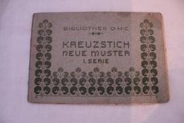 1900-1910 | DMC Kreuzstich neu  Muster - Duitstalig antiek boekje
