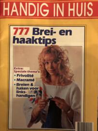 Tijdschriften   Haken & breien   Vintage    Handig in huis: 777 brei- en haaktips  nr. 3