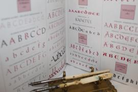 Boeken | (Westerse) kalligrafie