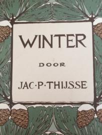 Verzamelalbum | Koninklijke Verkade's  Fabrieken N.V. Zaandam | Winter Jac. P. Thijse | Verkade plaatjesalbum | Zomer & Keuning | 1975
