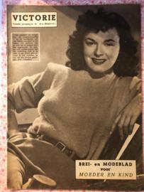 1947   VICTORIE BREI en MODEBLAD voor MOEDER en KIND - Tweede jaargang nr. 29 zonder datum