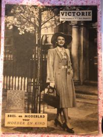 1948   VICTORIE BREI en MODEBLAD voor MOEDER en KIND - Derde jaargang nr. 6 - 3 april 1948
