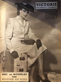 1948   VICTORIE BREI en MODEBLAD voor MOEDER en KIND - Derde jaargang nr. 9 - 8 mei 1948