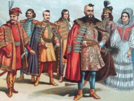 Hongaarse kostuums | midden 17e eeuw  | Hongarije