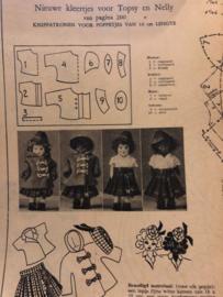 Ariadne: maandblad voor handwerken | 1953 nr. 79 juli - ALLEEN WERKBLAD  - Poppenkleertjes Topsy en Nelly