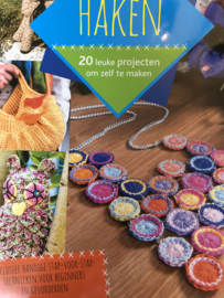 VERKOCHT   Haken   Boeken   20 leuke projecten om zelf te maken: inclusief handige stap-voor stap-technieken voor beginners en gevorderden
