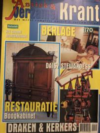 2001 | Tijdschrijften | Verzamelkrant - 17e jaargang jul/aug 2001 - Restauratie- draken en kerkers