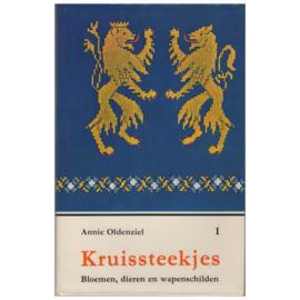 1963 | Boeken | Kruissteken | Kruissteekjes I: bloemen - dieren - wapenschilden | Annie Oldenziel