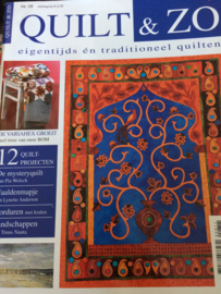 Quilten |Tijdschriften | Quilt & Zo | eigentijds én traditioneel quilten | no. 8 | 2011