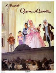"1940 | Muziek | Bladmuziek | R. Krentzlin ""Opern mit Opperette"" | ca. 1940"