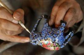 Artikel: het ontstaan van papier máche in Kashmir
