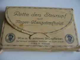 Rette den Strumpf -Neger-Garn Bela-Garn Garn-Heftchen Handarbeit Glanzstopftwist