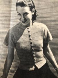 Tijdschriften | Haken en Breien | Libelle's HAKEN en BREIEN - maart 1951 no 3