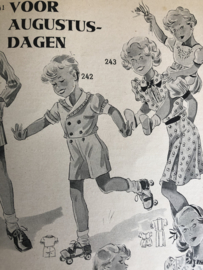 1937 | Moeder | Moeder - nummer 8 augustus 1937