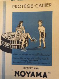 1947 | Protège-cahier Cahiers offert par NOYAMA - schrifthoes