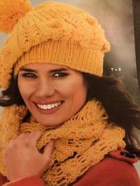 Anna: Accessoires zelf maken | nr. 03  - KLEINODEN VOOR HERFST & WINTER - Mutsen en sjaals en handschoenen
