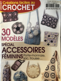 Tijdschriften   Haken   Créations facies au crochet 30 modèles spécial accessoires féminins Mars 2013