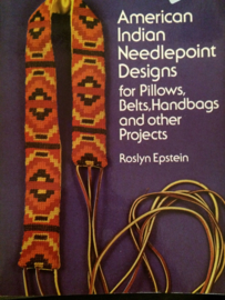 Boeken | Handwerken | Amerika | Kruissteken | American Indian Needlepoint designs for pillows, belts, handbags and other projects