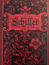 1896 | Schillers sämtliche Werke in Zwölf Banden Leizig | Band 4 + 6  (gedichten)