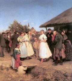 VERKOCHT | A házasság dicsérete | Gedichten in het Hongaars met prachtige illustraties | Hongarije