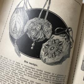 1915 | Boeken | Handwerken | Teneriffe | Beyers handwerkboeken Serie H no. 58 - Teneriffewerk met 152 afbeeldingen | Uitgave G. van Wees Zeist en Amsterdam | Teneriffekant