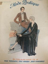VERKOCHT | 1930 | Revue Mode Pratique no. 4 Samedi 25 Janvier 1930 - Libraire Hachette