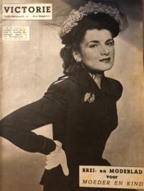 1948   VICTORIE BREI en MODEBLAD voor MOEDER en KIND - Derde jaargang nr. 14 - 17 juli 1948