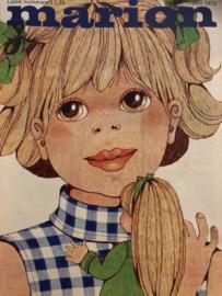 1973 | Marion naaipatronen maandblad | nr. 287 maart 1973 - wijde jurkjes, positiejurk, zondagse kleertjes voor kinderen - lente