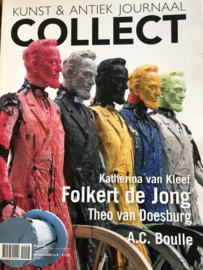 Tijdschriften | Collect: kunst en antiek journaal - 2009, oktober - Folkert de Jong
