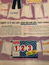 1962 | Advertentie Super waspoeder