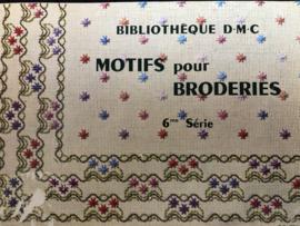 Boeken | Bibliothèque DMC | Borduurmotieven | 1950 - Motifs pour broderies. 6me Série Th. de Dillmont Mulhouse