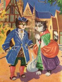 Briekaarten Honden en poezen | Postcards Dogs and Cats