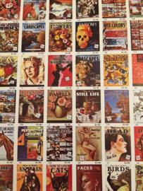 Boeken | Schilderen | Losse vintage overzichtskaart van de publicaties van Walter T. Foster | 1960
