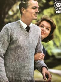Tijdschriften   Breien   Neveda 20de serie - Leische Wolspinnerij N.V. Breipatronenboekje uit de jaren '60