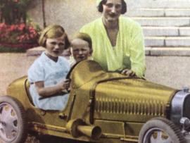 België | Verzamelkaarten - prentjes - kaarten Côte d'OR | Serie Reine Astrid 1932 avec  Prinsesse Josephine-Charlotte