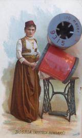 9315 - Garen | Mölnlycke Sytrad Göteborg | Rood 9315 110 m. 120 Yard Yarn 100% polyester naaigaren klosje 3 x 3 cm | Vintage