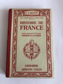 Boeken | Geschiedenis | Frankrijk | 1940 | Frankrijk  Histoire de France Lavisse - geschiedenislesboek
