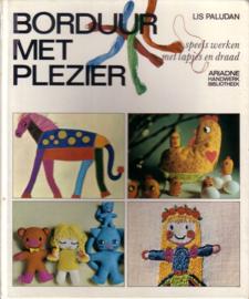 Ariadne | Handwerk Bibliotheek | Borduur met plezier - Speels werken met lapjes en draad