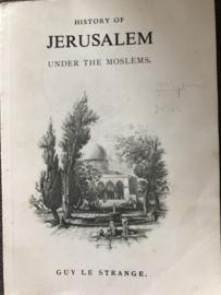 Boeken | Geschiedenis | religie | Reprint Jerusalem under the Moslems