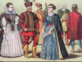 Hongaarse kostuums | 2de helft 17e eeuw | Hongarije