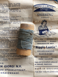 "Vintage ""Ripple Lastic"" and instruction paper 