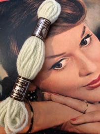 Borduurwol | 7400 - 7401 - 7404 - 7406 nummers - Colbert DMC Laine pour tapisserie - LICHT GROEN & BRUIN