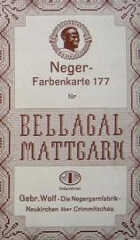 Neger Farbenkarte & Farbmuster
