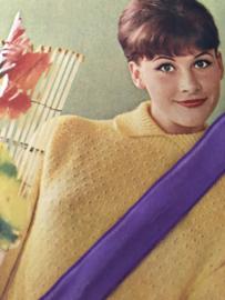 Band | Paars | Vintage lila fluweelband VELVALOUR 'Swiss Velvet'  (1.8 cm)