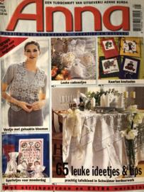 Tijdschriften | Handwerken | Anna: plezier met handwerken 1999 nr. 5 mei - ZONDER PATROONBLAD
