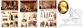 1778 | Friedrich Wilhelm II, Koning van Pruisen, afgebeeld met de lokale naaldenmaker Franz Schmale in Iserlohn