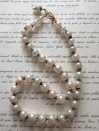 "Ketting ""Pearl"" prachtige parelketting  (imitatie) | jaren '50-'60 - Vintage"